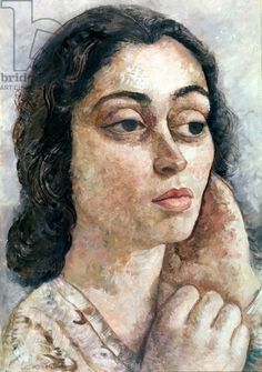 Portrait of a Young Woman - Lasar Segall