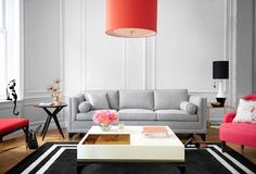 We love bold colors but neutral modern sofas can also make a great statement. Be inspired by these 25 sophisticated grey sofas for your living room set! Living Room Sets, Rugs In Living Room, Home Interior, Interior Design Living Room, Home And Living, Living Room Decor, Room Rugs, Home Design, Space Interiors