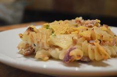 Creamy dairy-free tuna pasta bake