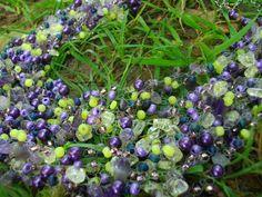 Вяжу и продаю бусы. Crochet and sell necklace. Бисер, камни, пряжа, мононить. Beads, gemstones, yarn, monofilament.