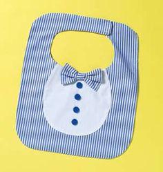 sew bibs for boys | B4533 Butterick 4533 Sewing Pattern Six Baby Boy Girl Applique Bibs