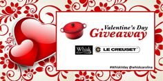 Enter to win this gorgeous 4.5-quart round Le Creuset Signature Dutch oven by commenting below on what dish you would make if you were the winner! One lucky Whisk Carolina follower will be chosen at random on Valentine's Day. See rules below. Rules: Entries are accepted through 11:59pm EST on Saturday, February 13, 2016. One comment per person, please.  Click  to Follow Whisk on Facebook