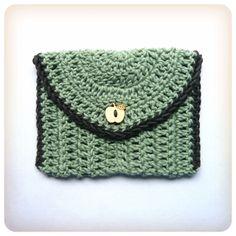 Shara Lambeth Designs: Little Treasures Envelope  ☀CQ #crochet #crafts #DIY