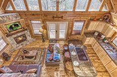Cabin Plans With Loft, Loft Floor Plans, Log Cabin Floor Plans, Cabin Loft, Small Cabin Plans, Cozy Cabin, Small Log Cabin, Tiny House Cabin, Small Lake Cabins
