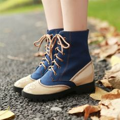 College casual canvas shoes