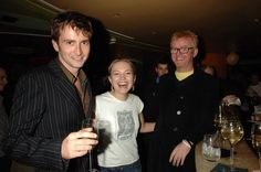 PHOTO OF THE DAY - 26th February 2015:   David Tennant, Sophia Myles and Chris Evans at the opening night of Otherwise Engaged in 2005