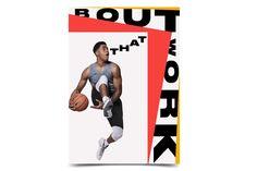 Bureau Mirko Borsche – Nike Basketball Bring Your Game Nike Basketball, Basketball Design, Soccer, Nike Poster, Nike Design, App Design, Kyrie Irving, Print Layout, Layout Design