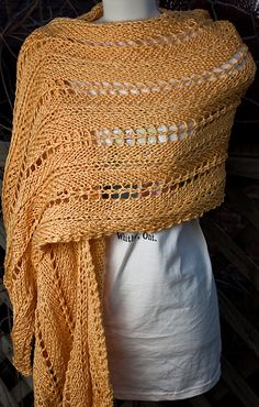 Ravelry: Whitby Summer Sun Wrap pattern by Martina Patricia Munroe.
