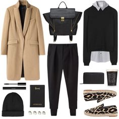 "20-something work fashion: ""Fall Color Trend: Camel"" by bellamarie"
