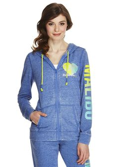 Clothing at Tesco | F&F Malibu Slogan Hoodie > tops > New In > Women