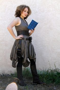 Another fierce entry in the BBC America Costume Contest that ENDS NEXT TUESDAY, OCTOBER 18th. She's even holding the diary. Here's how to submit your image.