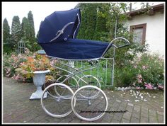 Retro Vintage, Baby Carriage, Prams, Kids And Parenting, Baby Strollers, Dolls, Children, Kids Wagon, Baby Buggy