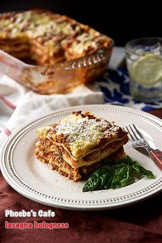 라자냐 볼로네즈 레시피, 이탈리아 요리, 파스타 만들기, 오븐 요리,
