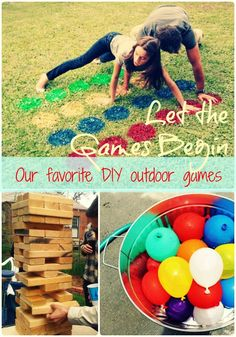 summer outdoor party games | our favorite #outdoor #party #games for the ... | Summer Party Ideas!