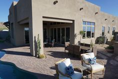 Imagine lounging in your beautiful, new Scottsdale yard with views of Scottsdale's famous Boulders.