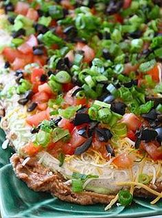 Kaila's Place | 7 Layer Dip