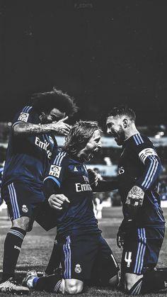 Marcelo - Modric - Sergio Ramos - Wallpaper