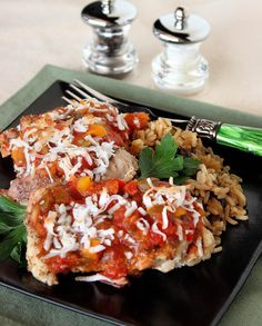 Tropical Salsa Chicken #weekdaysupper