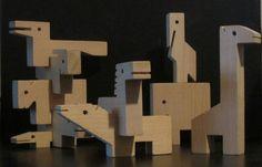 Creative Playthings Building Zoo Wood Animal Blocks w Box | eBay