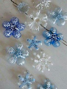17 Creative Snowflake Crafts 14 - https://www.facebook.com/diplyofficial