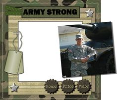 military scrapbooking layouts | See my selection of Downloadable Pre-Made Pages here in a wide variety ...