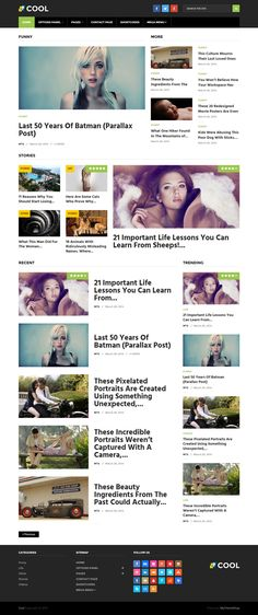MyThemeShop - Cool WordPress Theme To Impress Your Visitors and Is Perfect For Monetization - Perfect Theme for Blogs and Magazine! Cool theme, this latest Premium theme from MyThemeShop ensures your users don't see the same design that they see on 100 other websites.