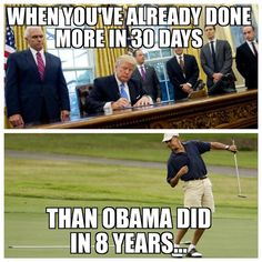 Just be cause someone says it, doesn't make it true.  Trump has spent around three million a trip on multiple trips to Mar a Lago in his first 4 months as president.  In his first 13 weeks he spent 25 days away from the White House at another private residence.  Compare that to Obama at 4 days, Bush at 14, and Clinton at 0.  Wake up, People!
