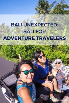 Bali is the place symbolizes peace, tranquil, and healing, not just for Eat, Pray, Love phenomena. Here is your guide to adventure travel in Bali. via @runawayjuno