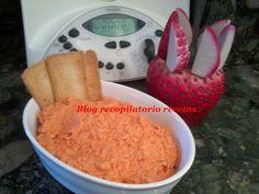 Recopilatorio de recetas : Pate de pimientos de piquillo con atún en thermomi...