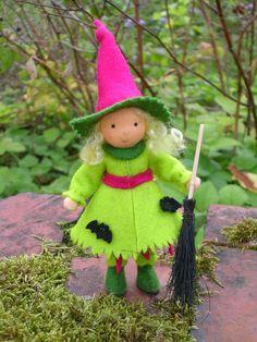 little felt witch