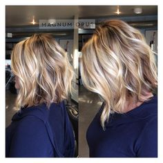 """Beautiful fall #lob  #fallhair #modernsalon #americansalon #behindthechair #pdxhair #hair"""