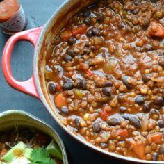 Black Bean and Lentil Chili