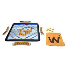 Is this seriously real? That's something that already exists and it is called  Scrabble. I can see a possible lawsuit in the near future..