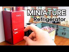 미니어쳐 냉장고 만들기#1 Miniature - Refrigerator #1 - YouTube