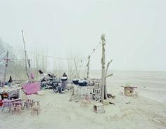 Zhang Kechun, 'Restaurant on the River Bank,Shanxi', 2011