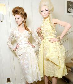 Gorgeous lemon meringue colours