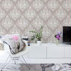 Syvämeri wallpaper from Vallila Interior by Matleena Issakainen Wallpaper Display, Cool Wallpaper, Home Office, Zoffany Fabrics, Wallpaper Collection, Buy Wallpaper Online, Sweet Home, Prestigious Textiles, London Hotels