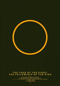 Minimalist Lines Posters by Michal Krasnopolski The Lord of the Rings: The Fellowship of the Ring