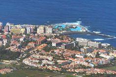 Blick auf Puerto de la Cruz - Teneriffa