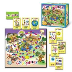 The game of Consequences is a fun way to introduce or reinforce the idea that all actions and behaviors have consequences.