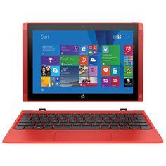 "HP Pavilion x2 10.1"" 32GB Windows 8.1 Tablet & Keyboard with Intel Atom Z3736F Processor - Red"