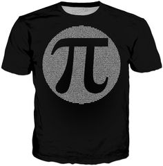 Pi Classic Black T-Shirt Visit ShirtStoreUSA.com for this and TONS of others!