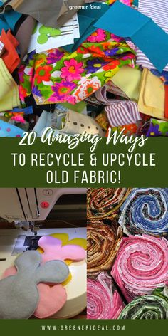 Check out these 20 Amazing Ways to Recycle