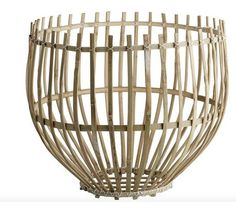 Mand Lamp Bamboe Open TINE K Groot