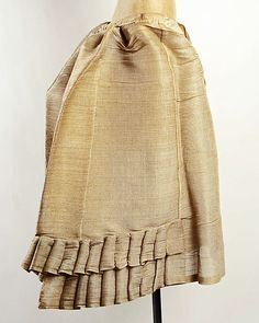 Petticoat Made Of Horsehair - American Or European c. Mid 19th Century - The Metropolitan Museum Of Art