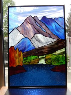 Stained Glass Windows Calgary Landscapes Rhonda's Stained Glass Stained Glass Quilt, Stained Glass Door, Making Stained Glass, Stained Glass Christmas, Stained Glass Designs, Stained Glass Panels, Stained Glass Projects, Stained Glass Patterns, Tiffany