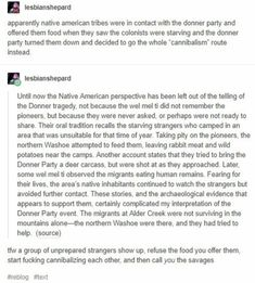 - Iesuonsnepard apparently native american vibes were in contact with the donner party and altered - History History Memes, History Facts, History Photos, History Timeline, Tumblr History, Funny History, Strange History, The More You Know, Good To Know