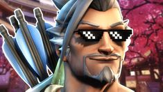 How To Be A Hanzo Main [Overwatch] Wow Products, Cat Ears, Twitter, Overwatch, In Ear Headphones, Youtube, Over Ear Headphones, Youtubers, Youtube Movies