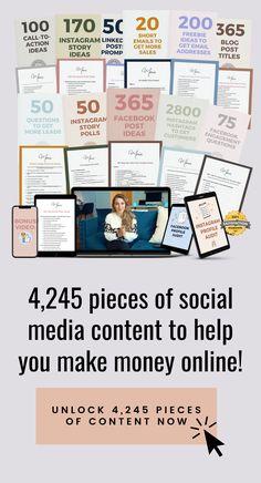 Social Media Content, Social Media Tips, Writing A Book, Writing Tips, Social Media Training, Social Media Marketing Business, Instagram Marketing Tips, Social Media Engagement, How To Get Money