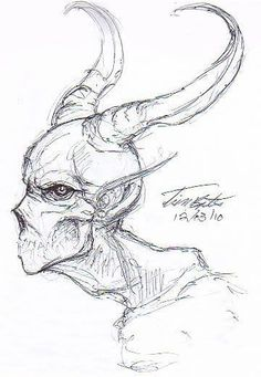 Ideas for art inspiration drawing sketches sketchbooks awesome Creepy Sketches, Demon Drawings, Creepy Drawings, Dark Art Drawings, Creature Drawings, Pencil Art Drawings, Art Drawings Sketches, Good Sketches, Satan Drawing